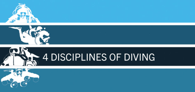 4 disciplines of diving
