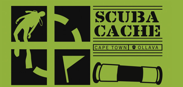 We've started sinking scuba caches in Cape Town, South Africa!