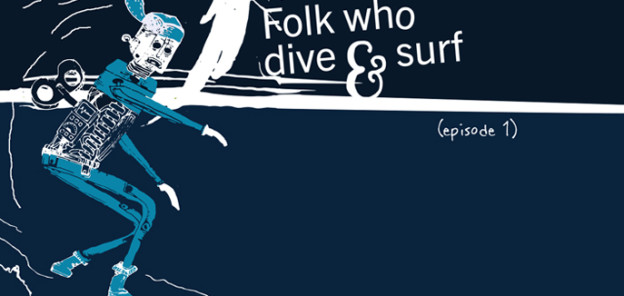 folk who dive and surf
